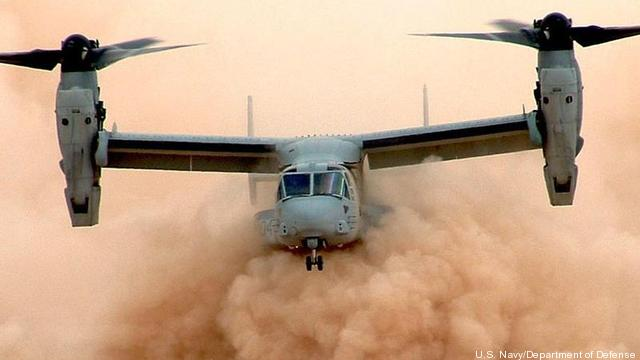 Resultado de la imagen para el helicóptero osprey