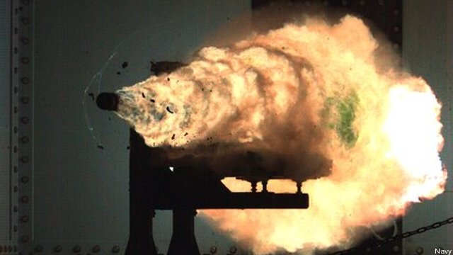 Hill To Navy: Hurry Up On Rail Guns, Lasers