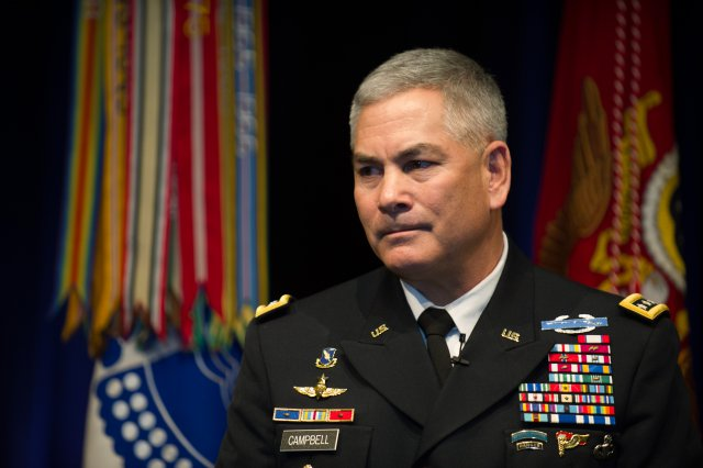 Gen. John Campbell, the Army's Vice-Chief of Staff.
