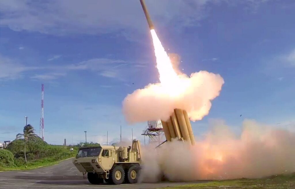 Army Tests Dispersed THAAD