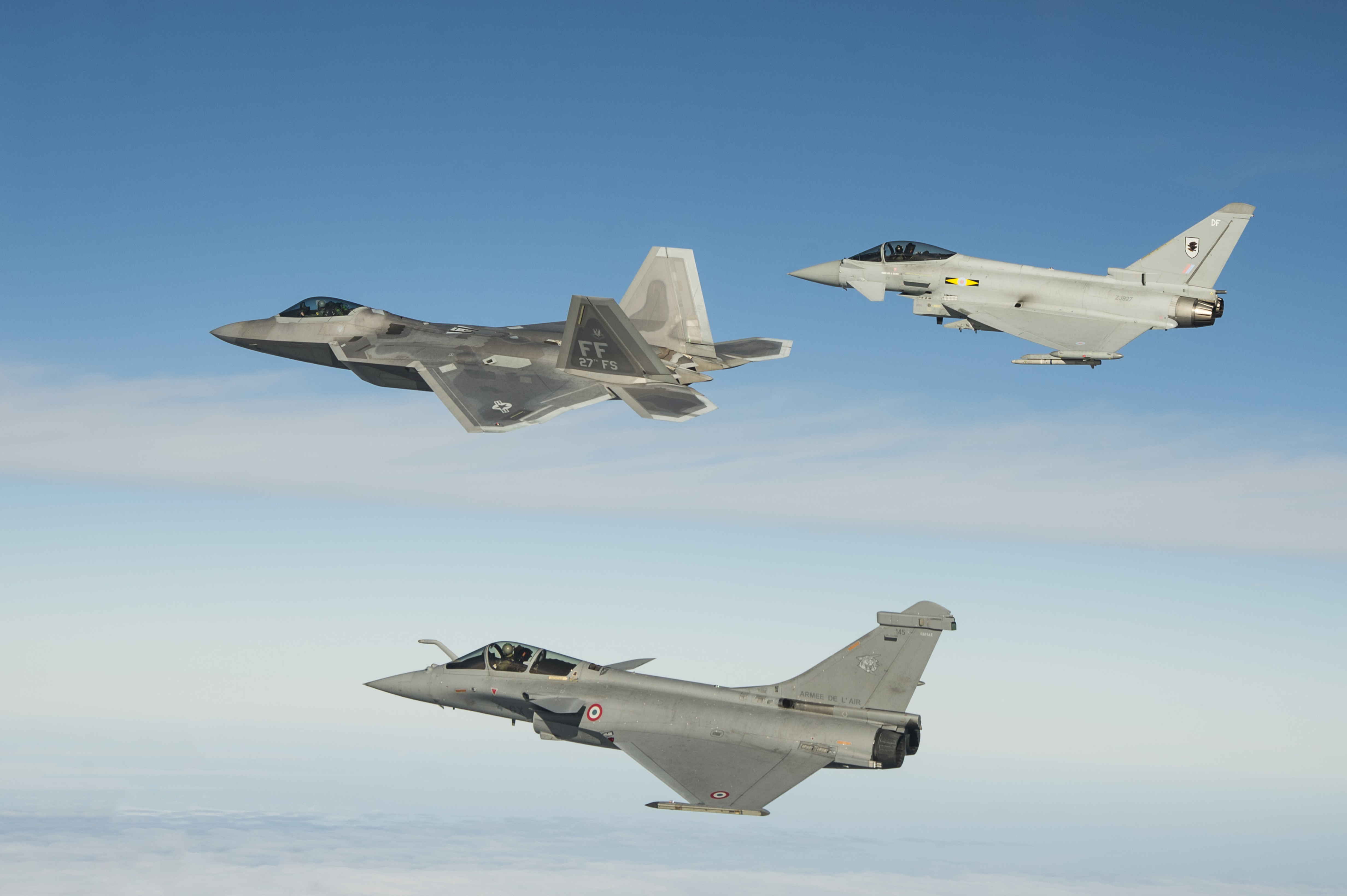 F-22, Typhoon, Rafale: Lessons From The Trilateral Wargame