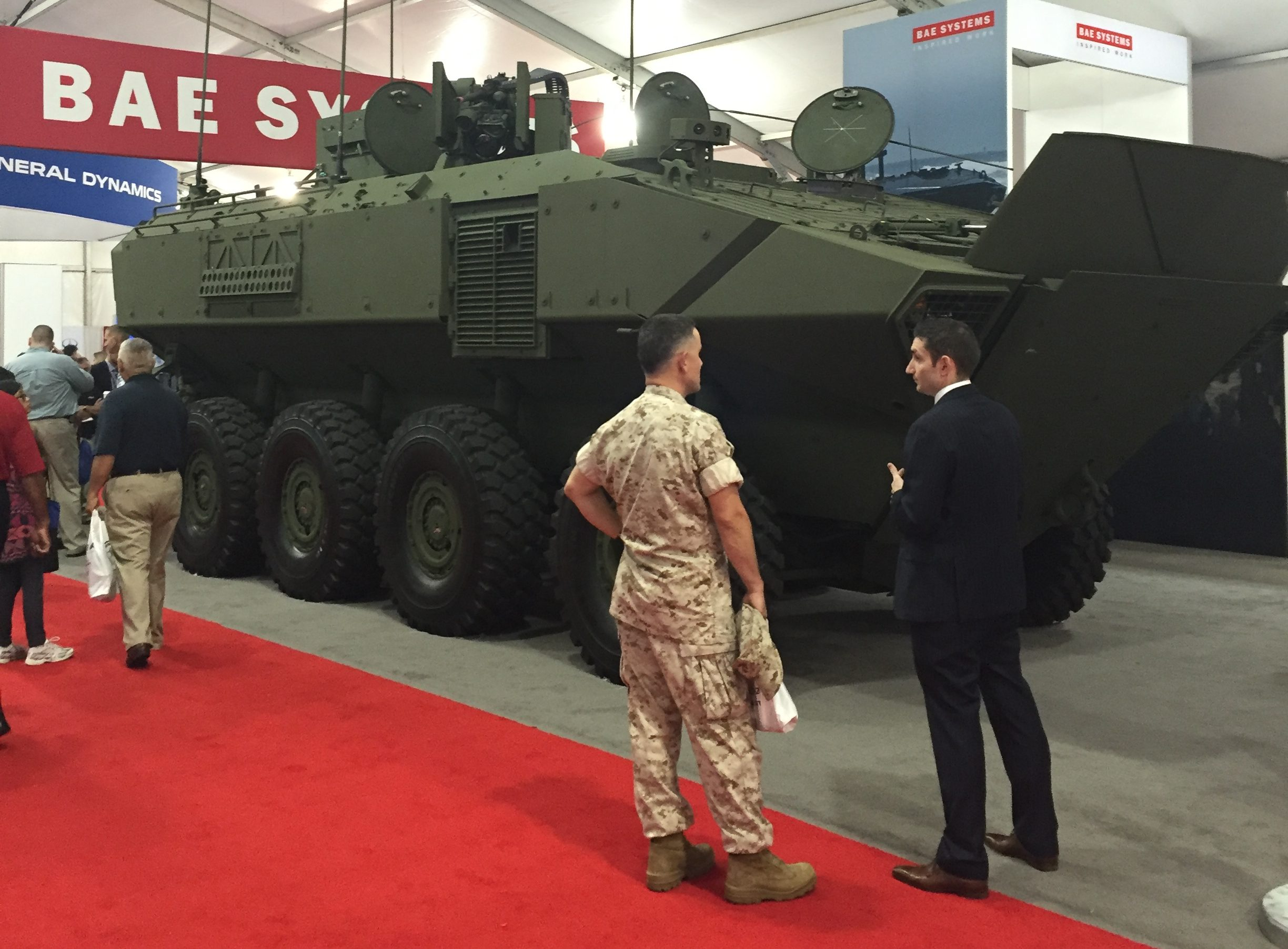 09274ecb77 BAE Unveils 1st Amphibious Combat Vehicle For Marines « Breaking Defense -  Defense industry news