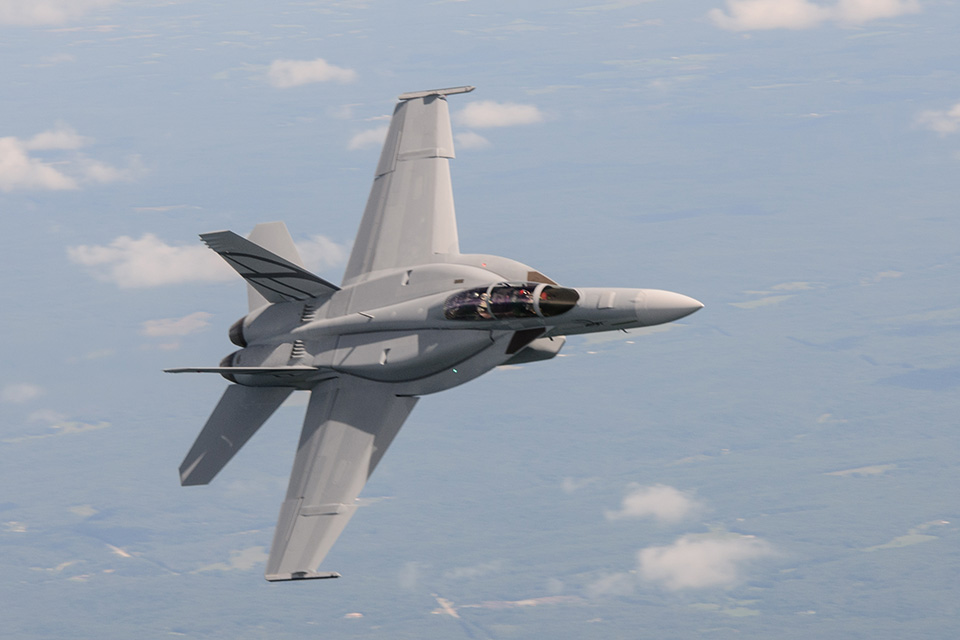 Boeing's Block III Super Hornet 'High End' Complement To F