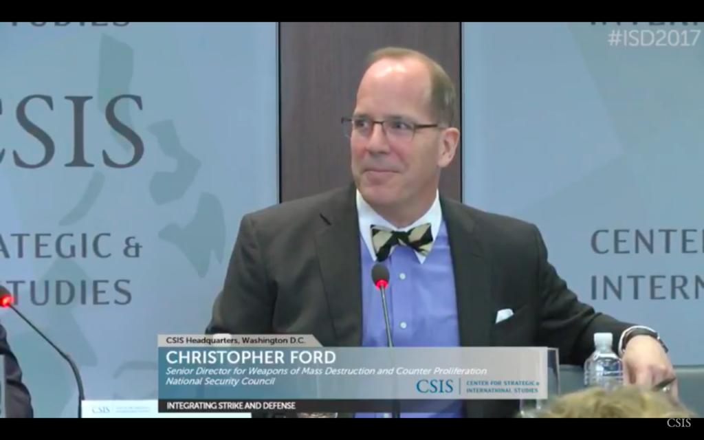 screenshot of CSIS video