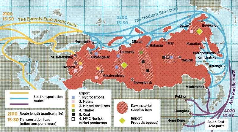 China & Russia In The Arctic: Axis Of Ambivalence « Breaking Defense on