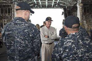 Inhofe: Navy 'Arrogance' On USS Ford 'Oughta Be Criminal
