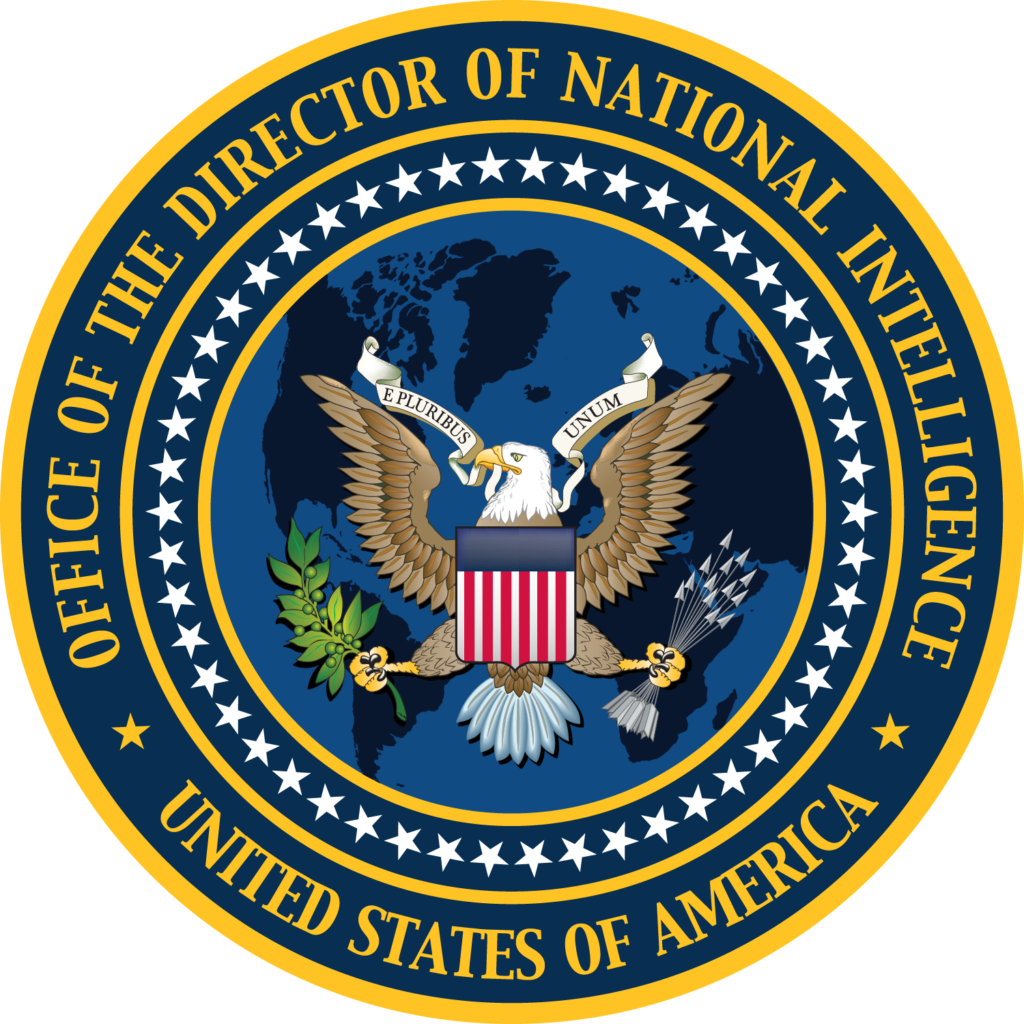 Seal of the Office of the Director of National Intelligence ODNI graphic