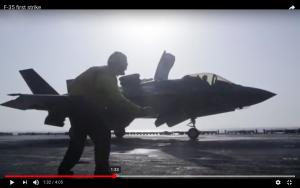 screencap from Navy video