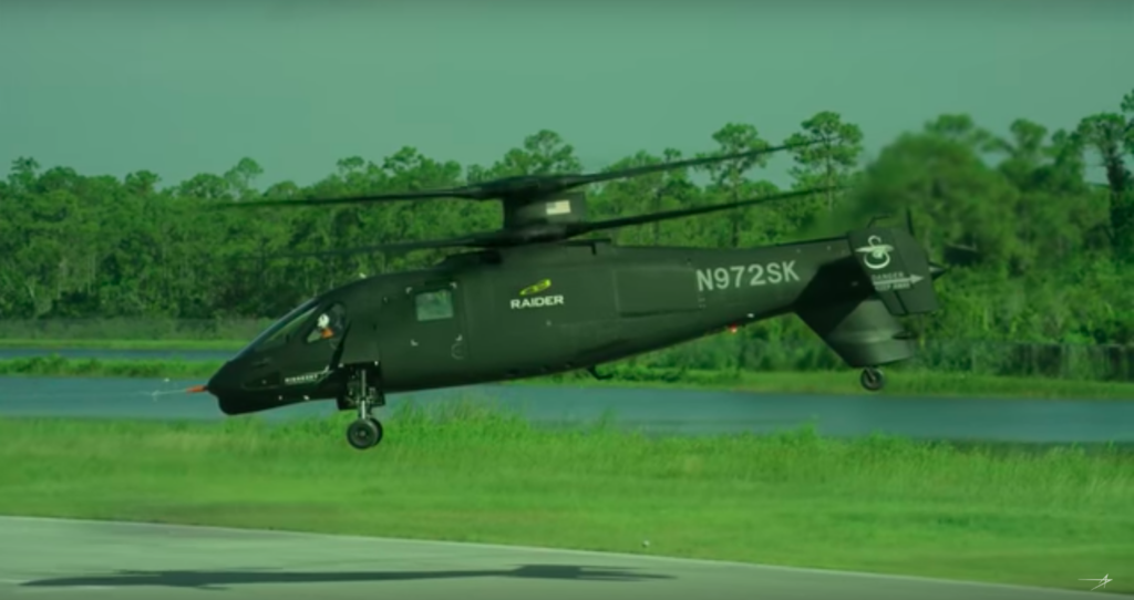 screencap from Sikorsky video