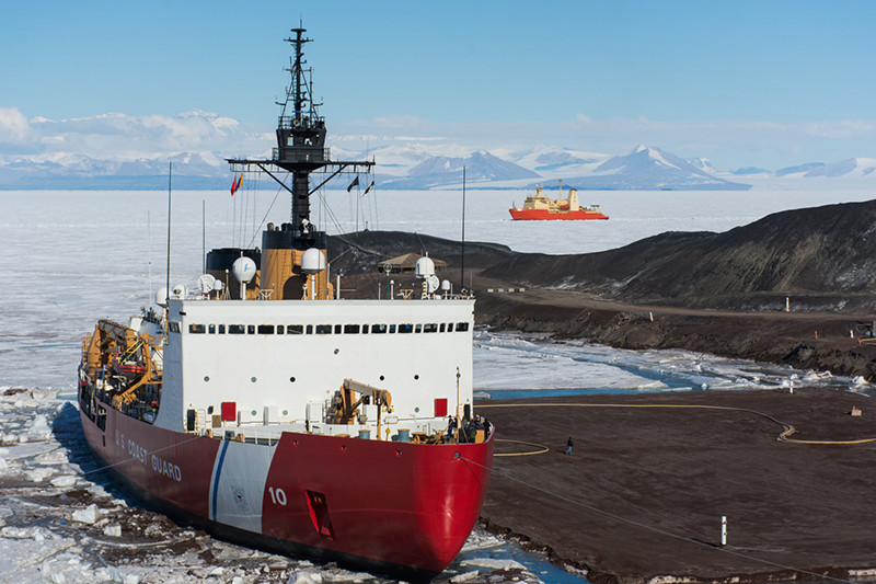 US Coast Guard Pledges To Manage Russia, China in Arctic