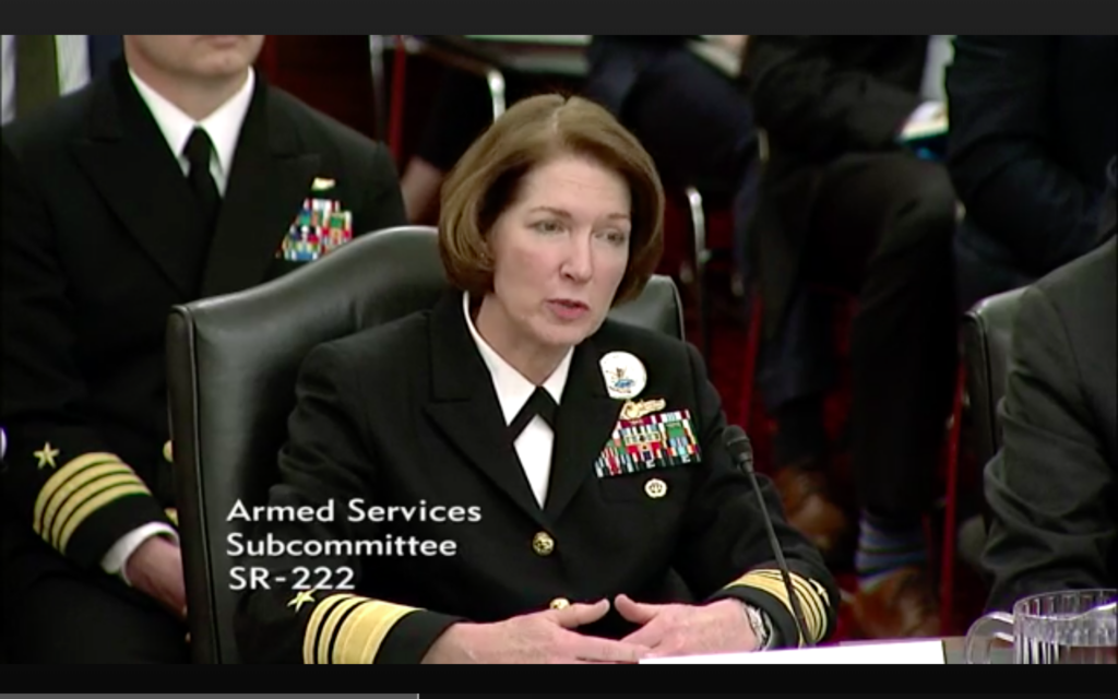 Senate Armed Services Committee video screenshot