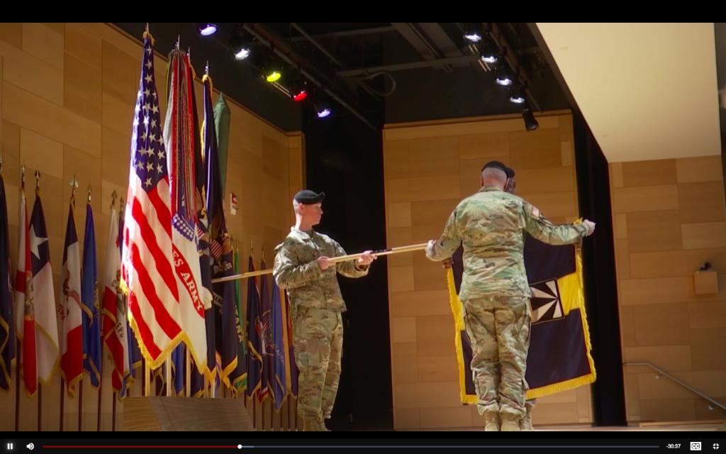 Screencap of Army video
