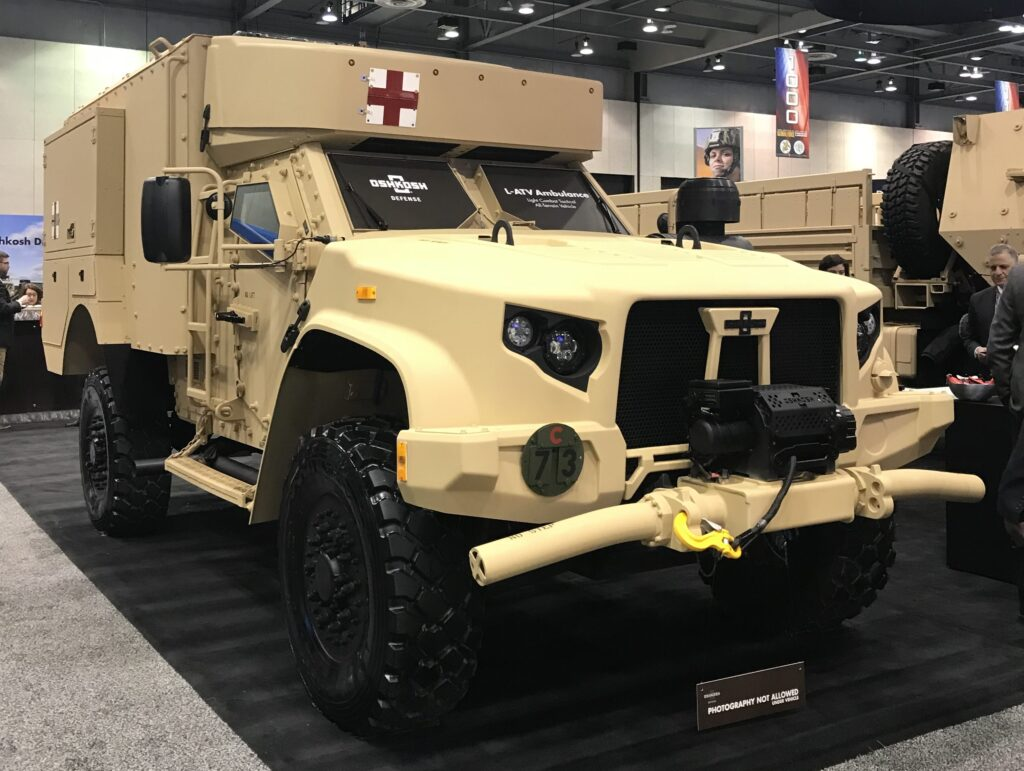 Oshkosh Defense Jltv >> Oshkosh Rolls Out New Jltv As Army Talks Cuts Breaking