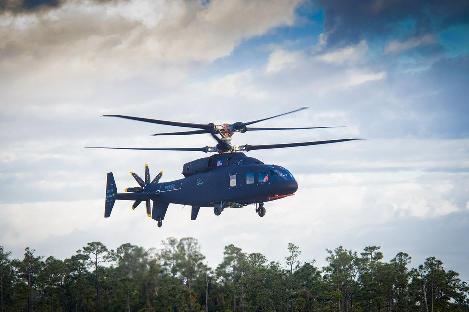 first flight, March 21, 2019. Photo courtesy Sikorsky and Boeing.
