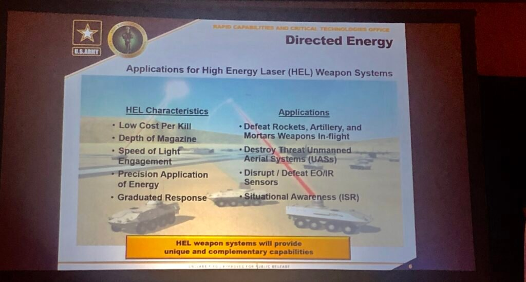 Army Moves Out On Lasers, Hypersonics: Lt  Gen  Thurgood « Breaking
