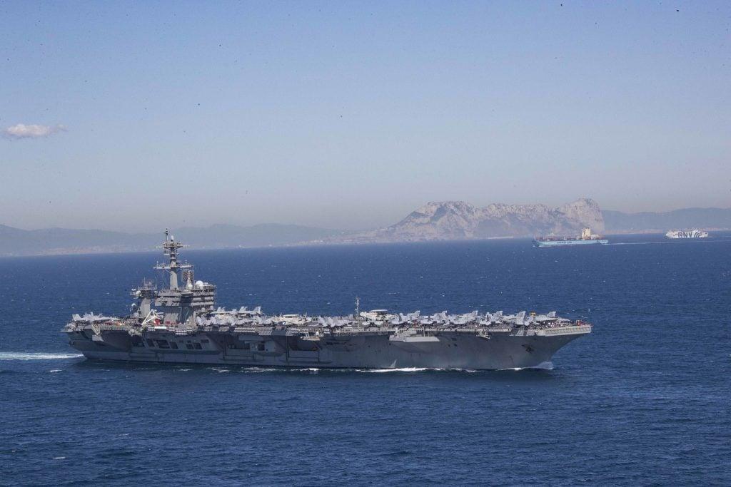 CNO: USS Lincoln Persian Gulf Trip No Surprise — 'Planned