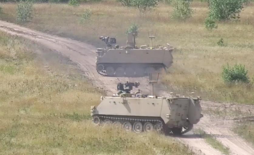 screencap from Army bideo