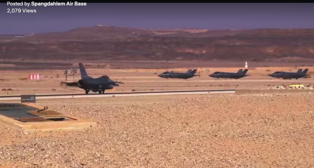 Screencap from Air Force video
