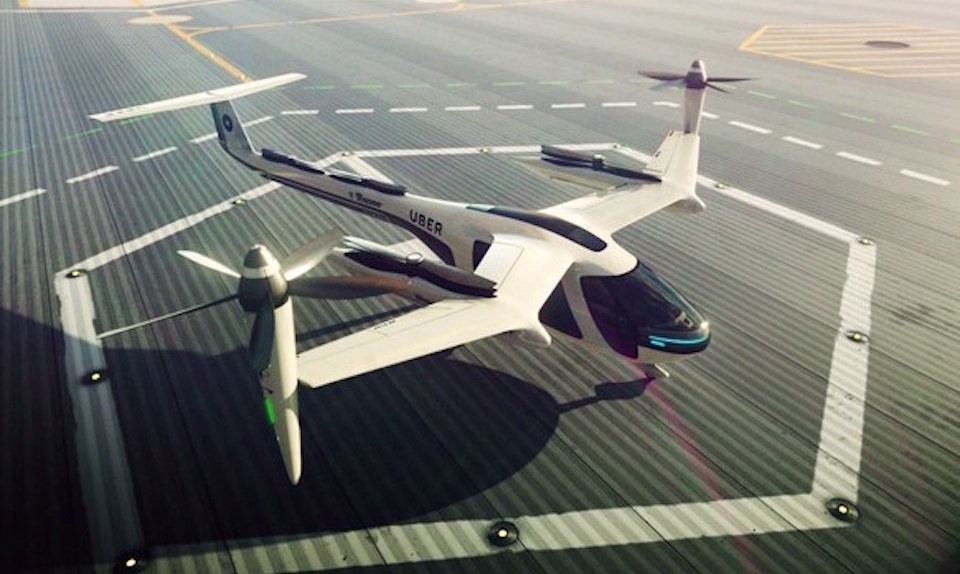 Uber flying car concept