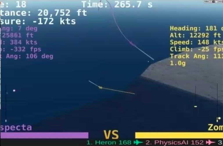 AlphaDogfight de DARPA prueba las habilidades de combate de los pilotos de IA