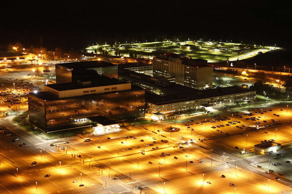 NSA Headquarters at Night (Trevor Paglen)