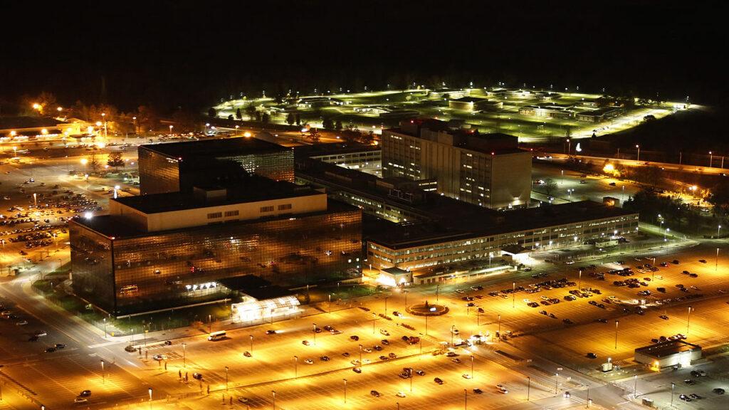 NSA Headquarters at Night (Trevor Paglen)