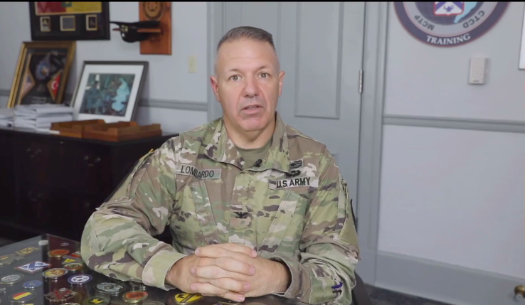 Col. Charles Lombardo addresses AUSA 2020