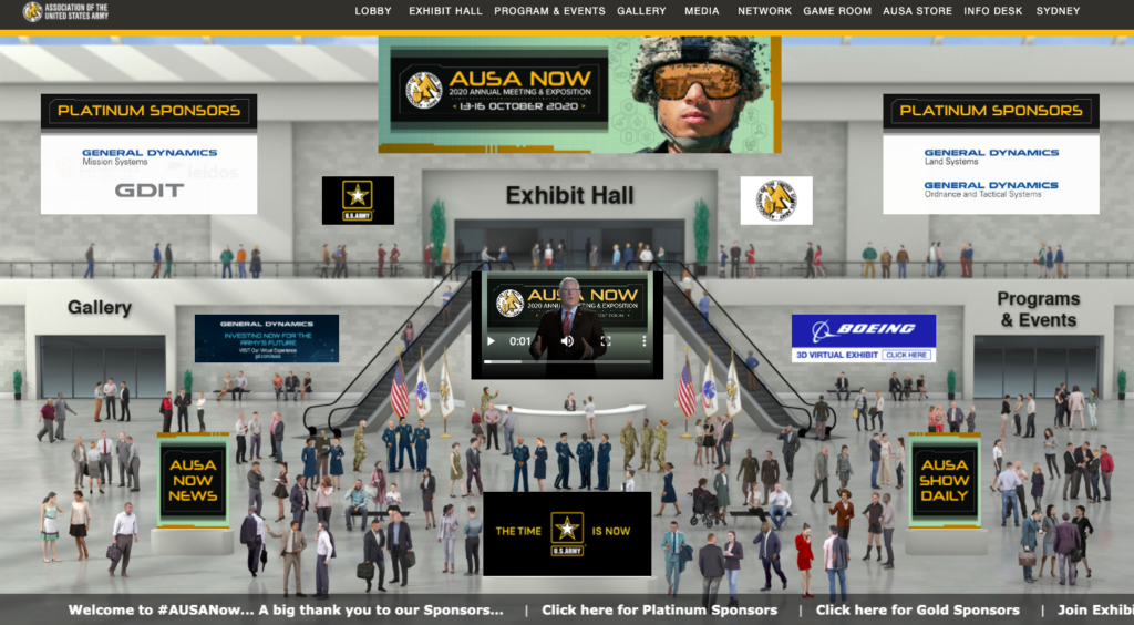 screenshot of AUSA graphic