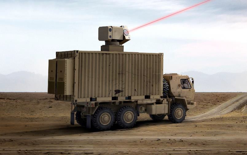 Image of article 'General Atomics' New Compact, High-Powered Lasers'