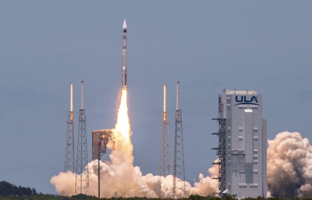 The U.S. Space Force successfully launched the fifth Space Based Infrared System Geosynchronous Earth Orbit satellite on an Atlas V launch vehicle from Space Launch Complex 41 at Cape Canaveral Space Force Station, Florida, May 18, at 1:37 p.m. (